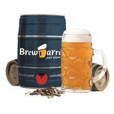 Buy & Send BrewBarrel Brew Your Own Oktoberfest-style beer Kit